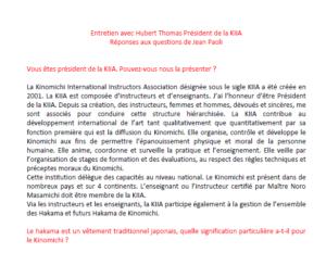 Read more about the article Entretien avec Hubert Thomas – Réponses aux questions de Jean Paoli