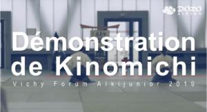 Read more about the article Démonstration de kinomichi, Vichy 2019