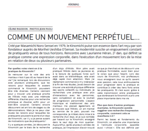 Read more about the article Aïkimag, janvier 2020